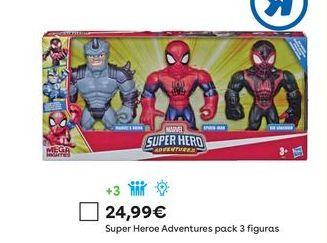 Oferta de Figuras de acción Marvel por 24,99€