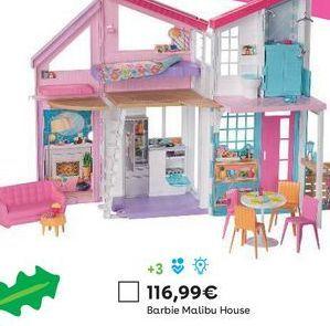 Oferta de Casa de muñecas Barbie por 116,99€