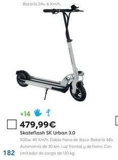 Oferta de Patinete eléctrico por 479,99€