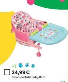 Oferta de Trona portátil por 34,99€