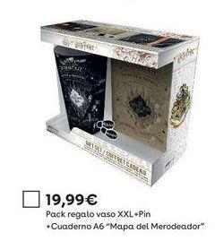 Oferta de Accesorios Harry Potter por 19,99€