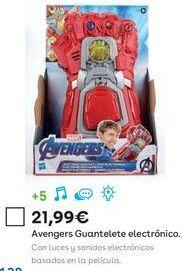 Oferta de Juguetes Marvel por 21,99€