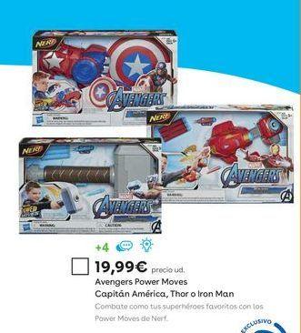 Oferta de Juguetes Marvel por 19,99€