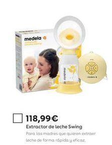 Oferta de Extractor de leche Swing por 118,99€