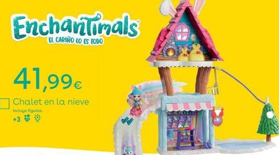 Oferta de Casa de juguete Enchantimals por
