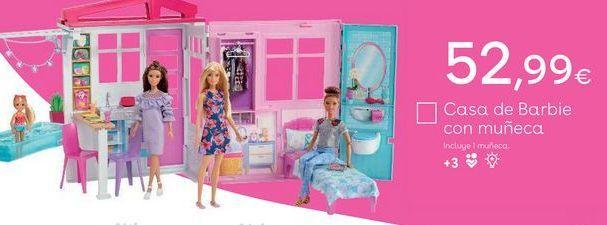 Oferta de Casa de muñecas Barbie por 52,99€