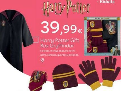 Oferta de Ropa Harry Potter por 39,99€
