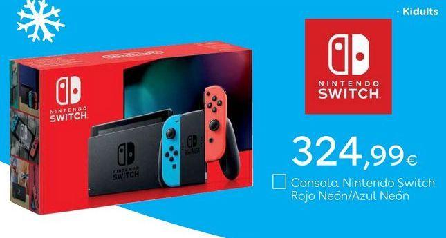 Oferta de Nintendo Switch Nintendo por 324,99€