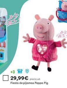 Oferta de Peluche Peppa pig por 29,99€