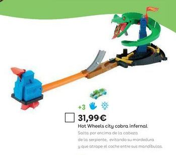 Oferta de Pistas de coches Hot Wheels por 31,99€