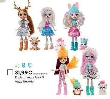 Oferta de Muñecas Enchantimals por 31,99€