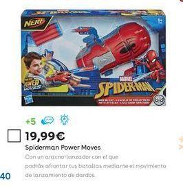 Oferta de Juguetes Spiderman por 19,99€