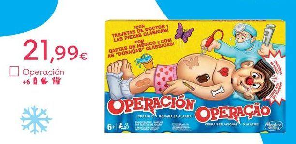 Oferta de Operación hasbro por 21,99€