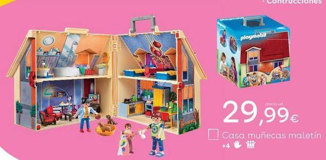 Oferta de Casa de muñecas Playmobil por 29,99€