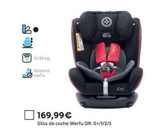 Oferta de Silla de coche por 169,99€