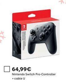 Oferta de Mando de consola nintendo SWITCH  por 64,99€