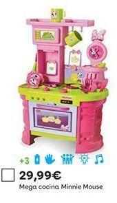 Oferta de Cocina de juguete Minnie Mouse por 29,99€