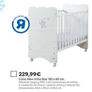 Oferta de Cunas por 229,99€