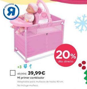 Oferta de Cambiador bebé por 39,99€