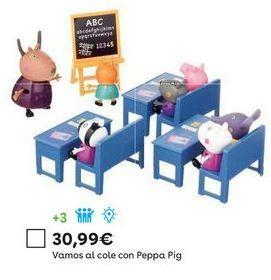 Oferta de Juguetes Peppa pig por 30,99€