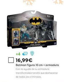 Oferta de Figuras de acción Batman por 16,99€