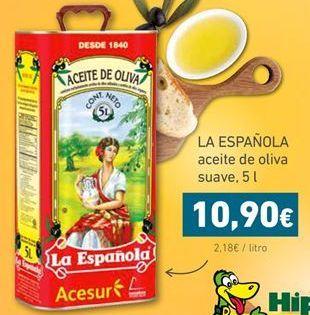 Oferta de Aceite de oliva La Española por 10,9€