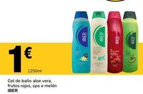 Oferta de Gel de baño por 1€