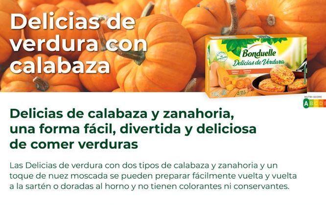 Oferta de Delicias de calabaza y zanahoria Bonduelle por