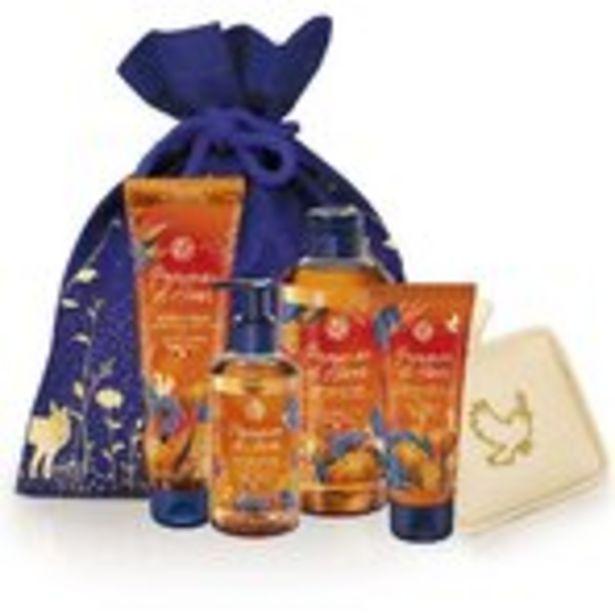 Oferta de Ideas RegaloKit Exfoliante Manzanas de Invierno + Esponja y Bolsa por 15,95€