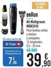 Oferta de Kit Multigroom MGK3245 Braun por 39,9€
