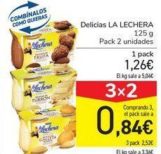 Oferta de Delicias LA LECHERA por 1,26€