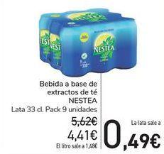 Oferta de Bebida a base de extractos de té NESTEA por 4,41€