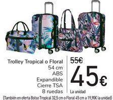 Oferta de Trolley Tropical o Floral  por 45€
