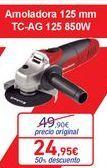 Oferta de Amoladora 125mm TC-AG 125  por 24,95€