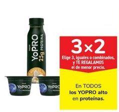 Oferta de En TODOS los YOPRO alto en proteínas por
