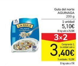 Oferta de Gula del norte AGUINAGA por 5,1€