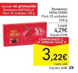 Oferta de Bombones MON CHERI por 4,29€