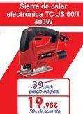 Oferta de Sierra de calar electrónica TC-JS 60/1 por 19,95€