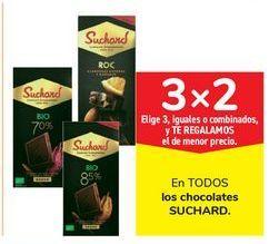 Oferta de En TODOS los chocolates SUCHARD por 4€