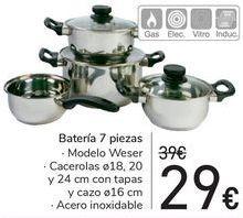 Oferta de Batería 7 piezas  por 29€