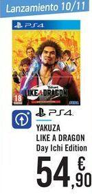 Oferta de YAKUZA LIKE A DRAGON Day Ichi Edition  por 54,9€