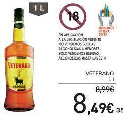 Oferta de VETERANO  por 8,49€