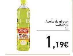 Oferta de Aceite de girasol COOSOL por 1,19€