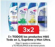 Oferta de En TODOS los productos H&S Todo en 1, Supreme y Men Ultra  por