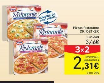 Oferta de Pizzas Ristorante DR.OETKER por 3,46€