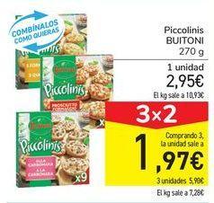 Oferta de Piccolinis BUITONI por 2,95€