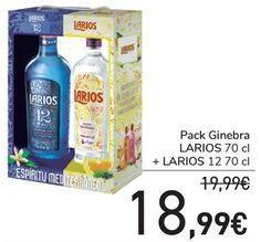 Oferta de Pack Ginebra LARIOS + LARIOS  por 18,99€