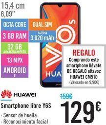Oferta de Smartphones libre Y6S HUAWEI por 129€