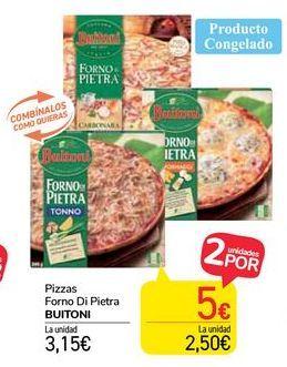 Oferta de Pizzas Forno Di Pietra Buitoni por 3,15€