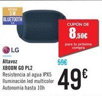 Oferta de Altavoz XBOOM GO PL2 LG por 49€